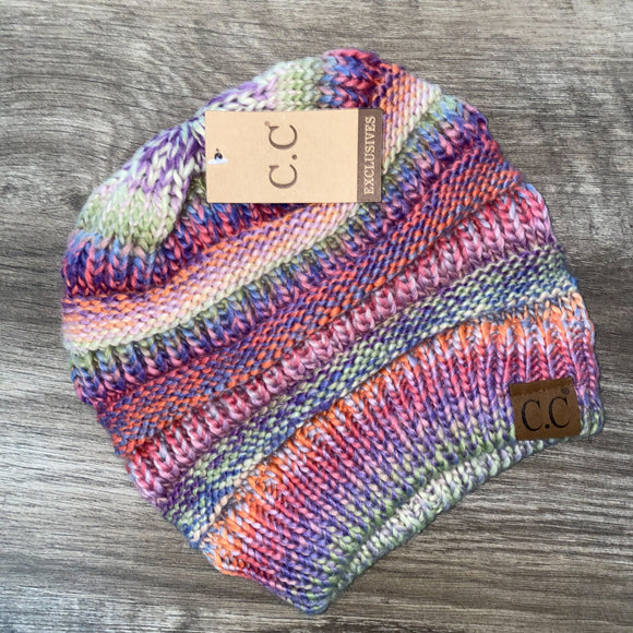 C.C Multi Rose Mix Beanie