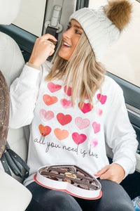 All You Need is Love L/S Tee