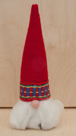 Scandinavian Gnome, Swedish Tomte with Red Hat