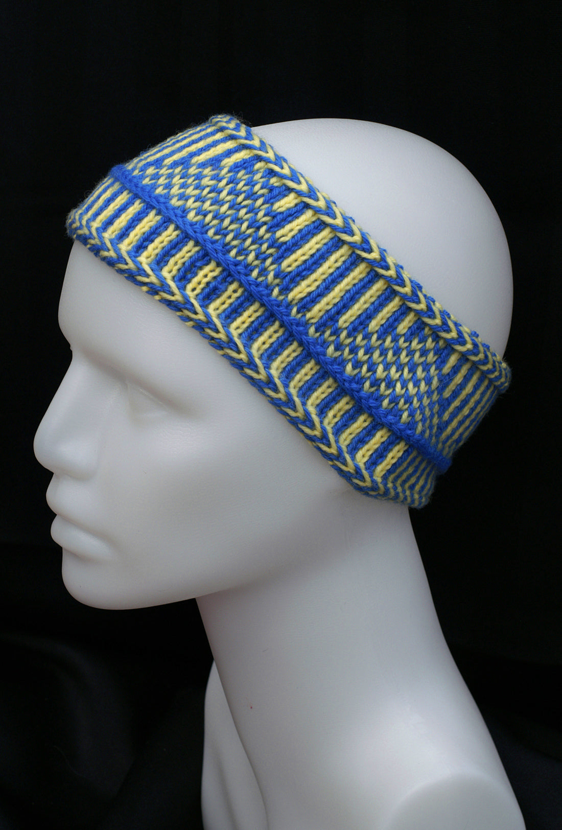 Nordic Knit Headband - 100% wool