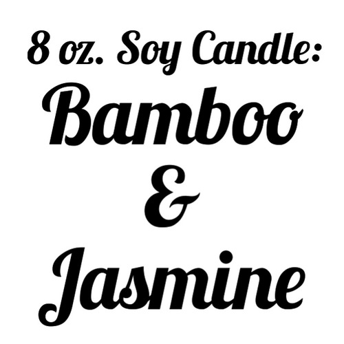Bamboo and Jasmine Soy Candle