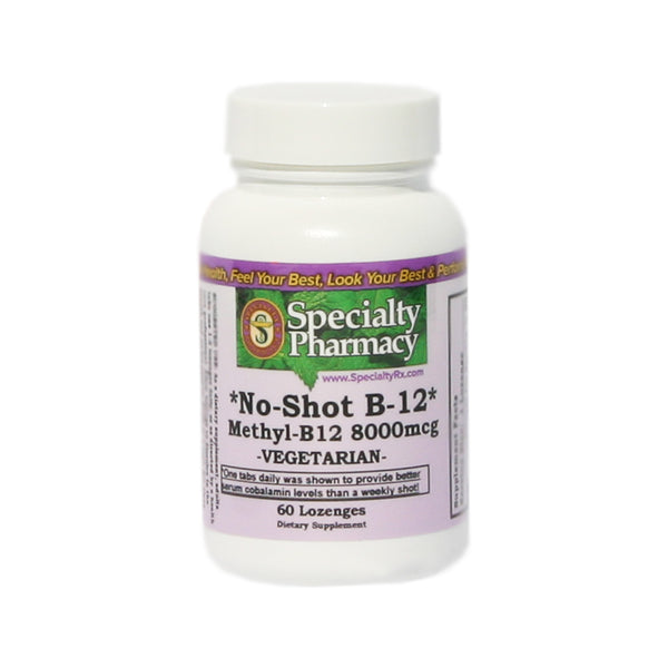 No-Shot B-12 (Methylcobalamin)