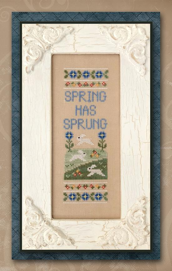 Spring Has Sprung ~ Country Cottage Needleworks
