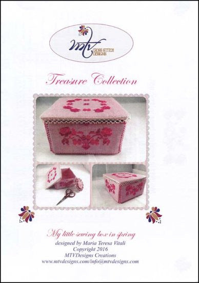 My Little Sewing Box In Spring ~ MTV Designs
