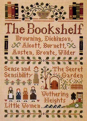 The Bookshelf (CS) ~ Little House Needleworks