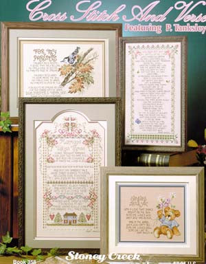 Cross Stitch And Verse ~ Stoney Creek Collection