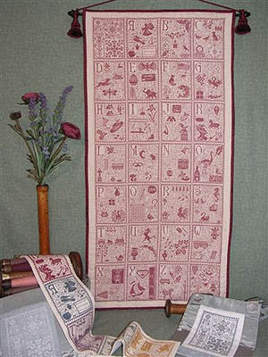 ABC Tapestry ~ Rosewood Manor