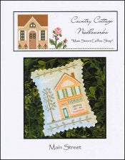 Main Street Coffee Shop ~ Country Cottage Needleworks