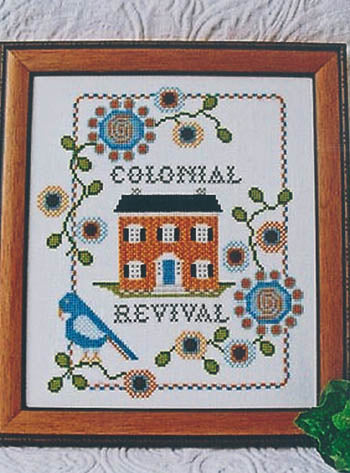 Colonial Revival ~ Annie Beez Folk Art