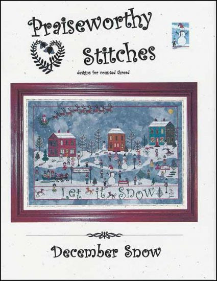 December Snow ~ Praiseworthy Stitches
