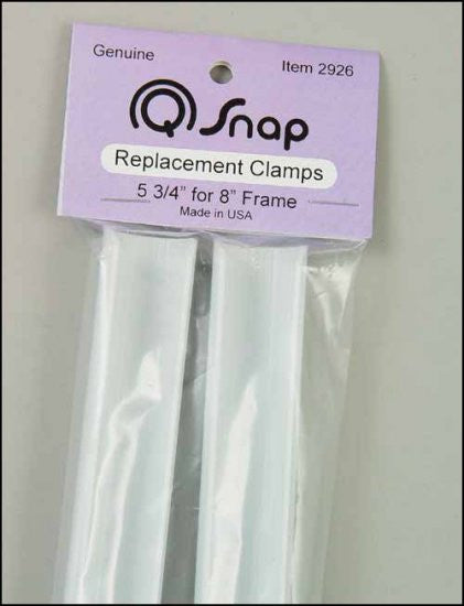 "Q-SNAPS. 5 3/4"" CLAMPS PAIR FOR 8"" FRAME"