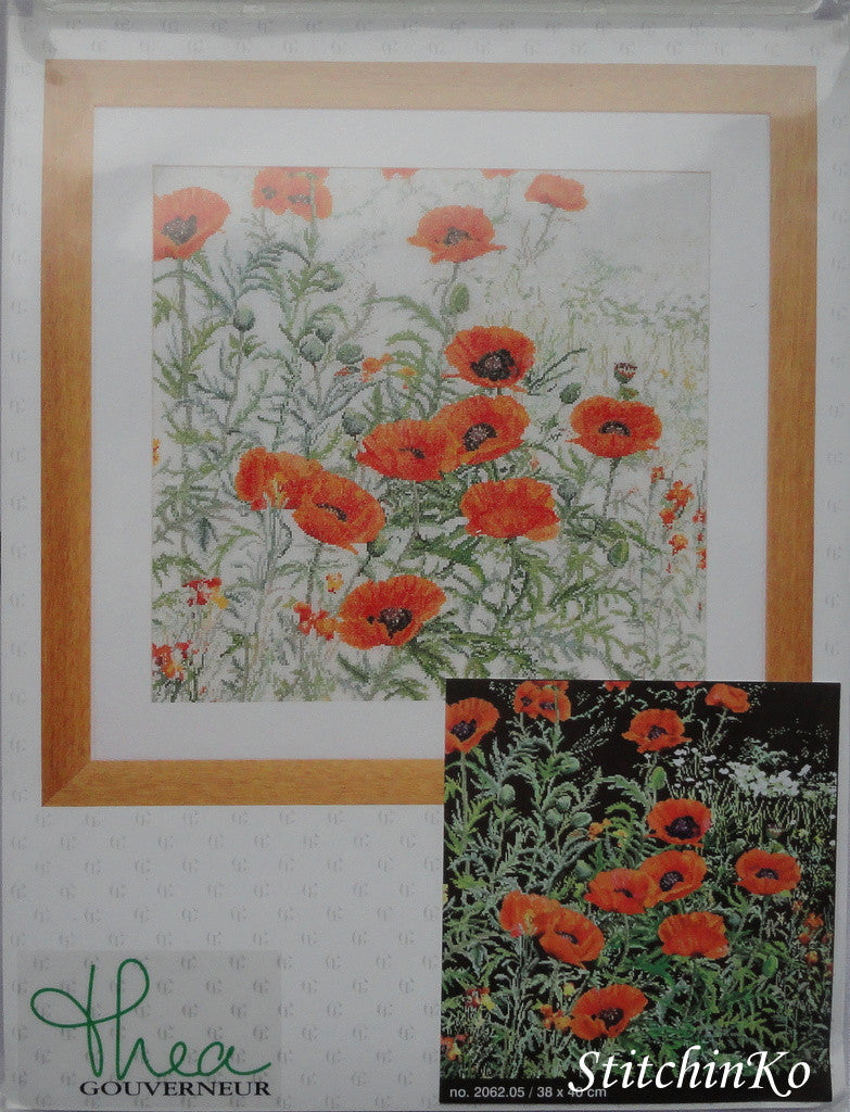 Orange Poppies ~ Thea Gouverneur