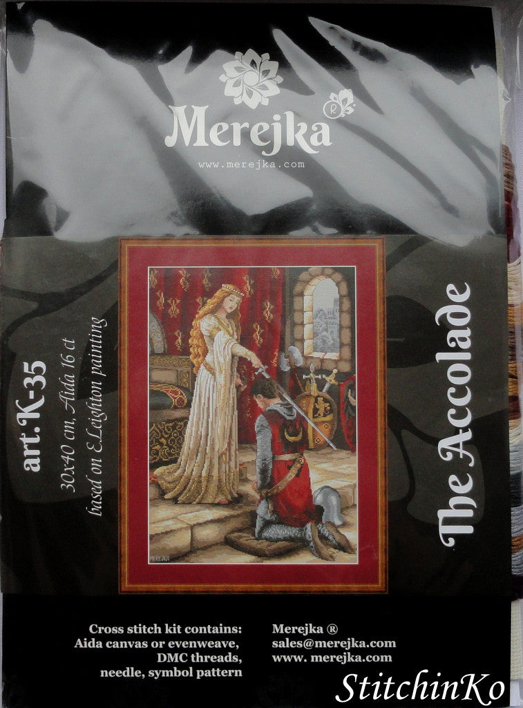 Merejka Cross Stitch Kits  The Accolade