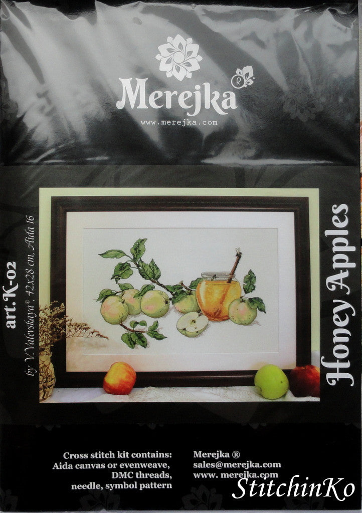 Merejka Cross Stitch Kits Honey Apples