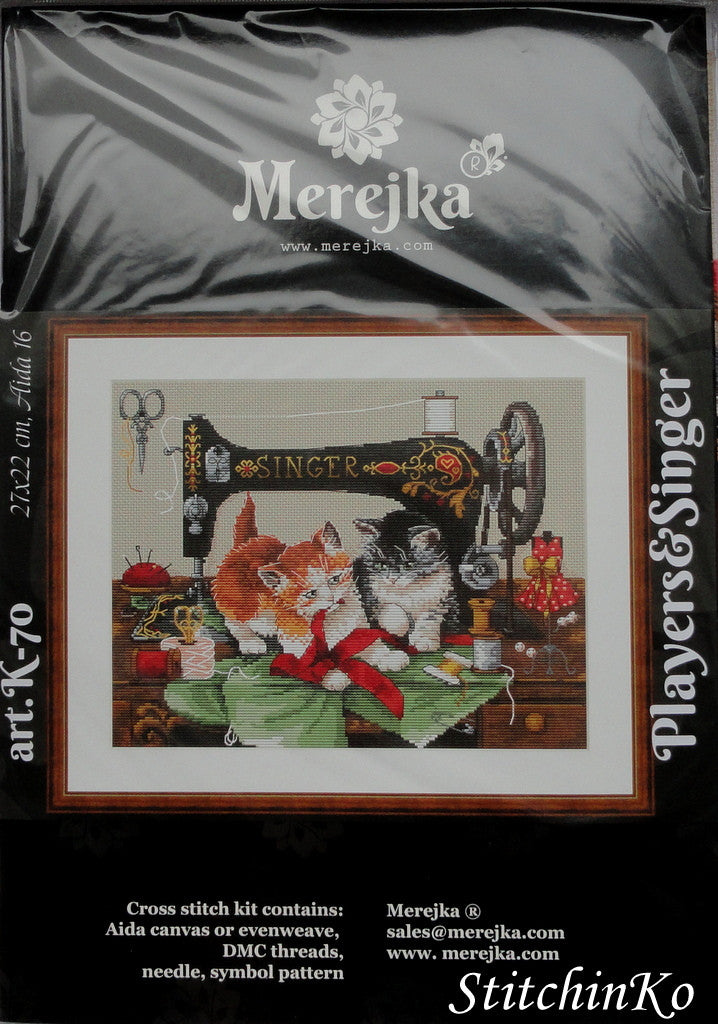 MEREJKA CROSS STITCH KITS Players and Singer