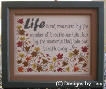 Moments That Take Our Breath ~ Designs By Lisa