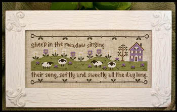 Sheep In The Meadow ~ Country Cottage Needleworks