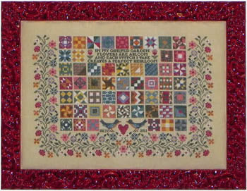 Quilted Garden ~ Blue Ribbon Designs