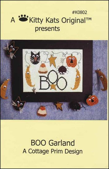 Boo Garland ~ A Kitty Kats Original