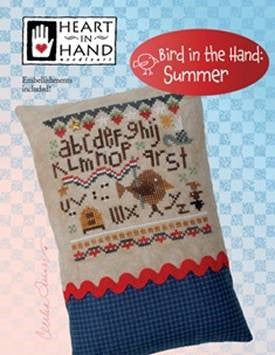 Bird In The Hand: Summer  ~ Heart In Hand