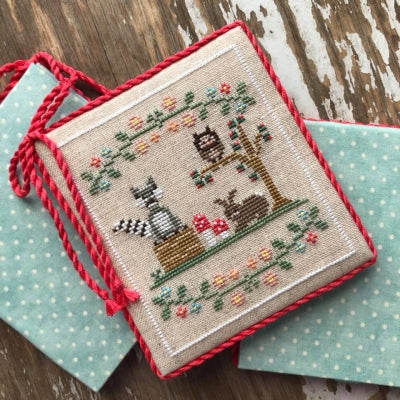 Welcome To The Forest 3 - Forest Raccoon And Friends ~ Country Cottage Needleworks