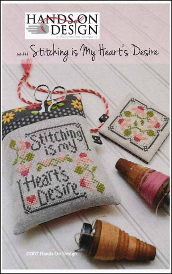Stitching Is My Heart's Desire ~  Hands On Design