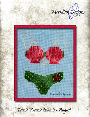Teenie Weenie Bikinis - August  ~ Meridian Designs