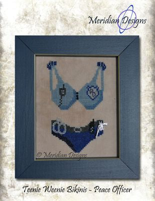 Teenie Weenie Bikinis - Peace Officer  ~ Meridian Designs
