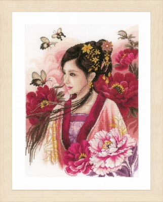 Asian Lady in Pink ~ Lanarte