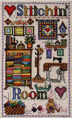 Stitchin' Room ~  Cross-Point Designs