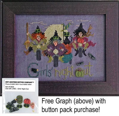 Girls Night Out Button Pack ~ Just Another Button