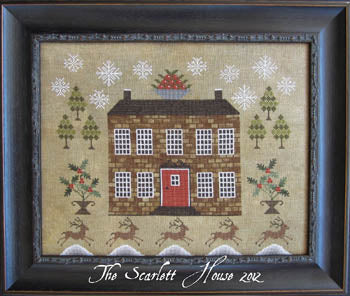 Christmastide At Holly House ~ The Scarlett House