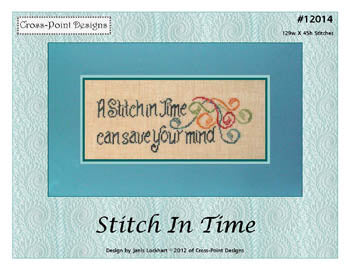 Stitch In Time ~  Cross-Point Designs