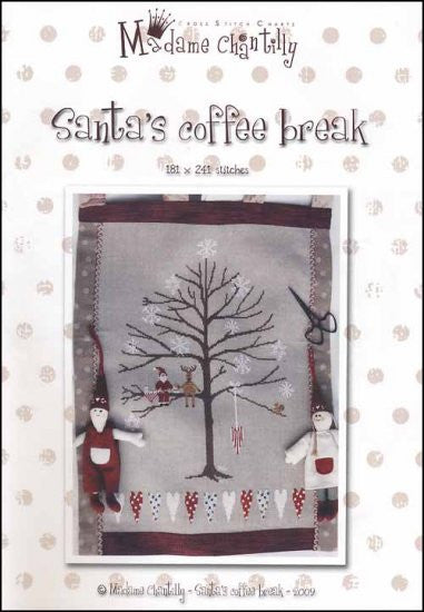 Santa's Coffee Break ~  Madame Chantilly