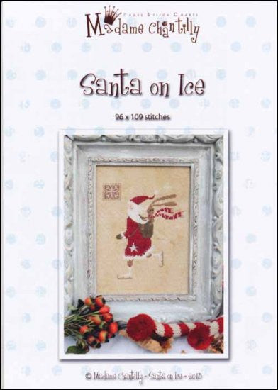 Santa On Ice ~  Madame Chantilly