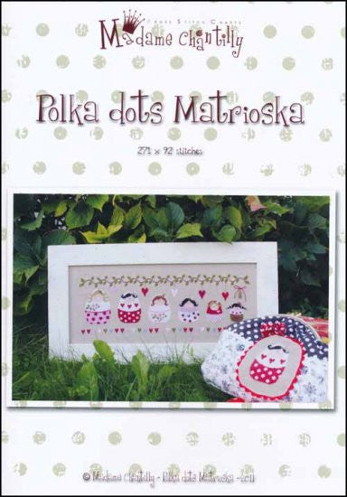Polka Dots Matrioska ~  Madame Chantilly
