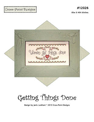 Getting Things Done ~  Cross-Point Designs