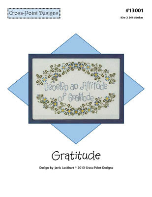 Gratitude ~  Cross-Point Designs