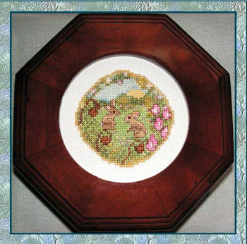 Spring Meadow ~  Cross-Point Designs