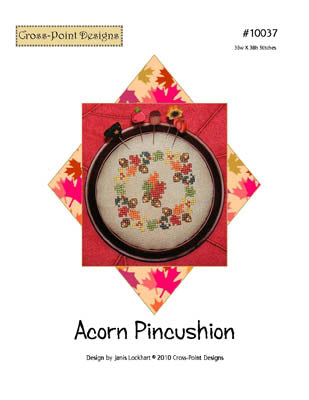 Acorn Pincushion ~  Cross-Point Designs