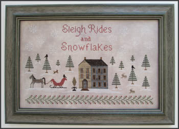 Sleigh Rides And Snowflakes ~ The Scarlett House