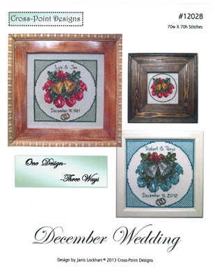 December Wedding ~  Cross-Point Designs