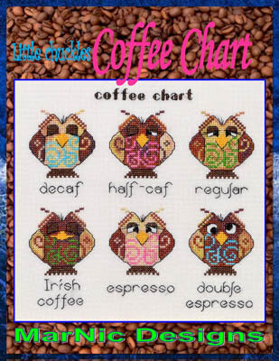 Coffee Chart ~ MarNic Designs