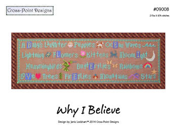 Why I Believe ~  Cross-Point Designs