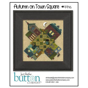 Autumn On Town Square Btn Pk ~ Just Another Button