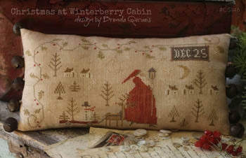 Christmas At Winterberry Cabin ~ With Thy Needle & Thread