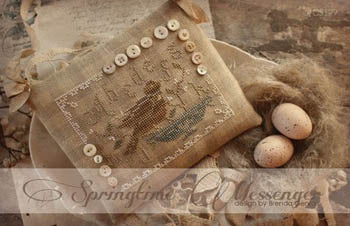 Springtime Messenger ~ With Thy Needle & Thread