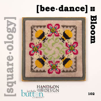 Square.ology-Bee Dance ~ Just Another Button