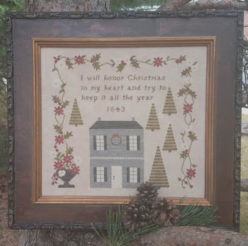 Christmas In My Heart 1843 ~ Samplers Not Forgotten