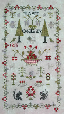 Mary Oakley 1818 (Antique Reproduction) ~ Pineberry Lane